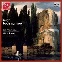 cover del disco di Rachmaninov