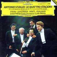Antonio Vivaldi - Le quattro stagioni, cd cover.