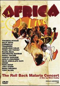 copertina di Roll Back Malaria Concert