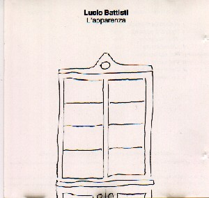 Lucio Battisti - L'apparenza, cd cover