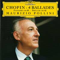 Chopin - 4 ballades. Cd cover