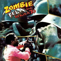 Fela Kuti - Zombie, cd cover.
