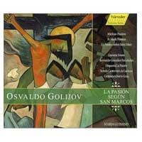 Golijov - La Pasión según San Marcos. Cd cover