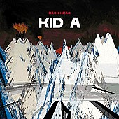 Radiohead - Kid A, cd cover.