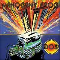 Mahogany frog - DO5. Cd cover