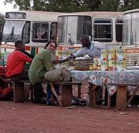 Alla stazione dei pulman di Segou