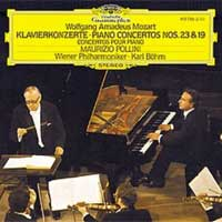 Mozart - Concerto k488, cd cover.