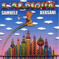 Samuele Bersani - L'aldiqua, cd cover.