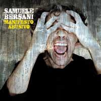 Samuele Bersani-Manifesto Abusivo copertina del cd